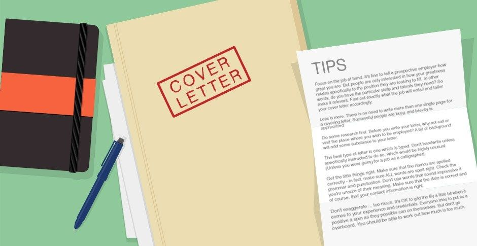 5 things to say in your cover letter if you want to get