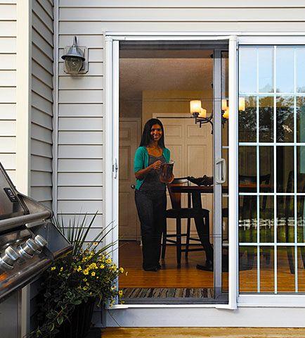 Odl Brisa Retractable Screen Doors Sliding Doors Photo Gallery Retractable Screen Door Retractable Screen Sliding Glass Doors Patio