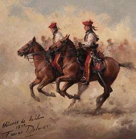 HUSARES DE ARLABAN 1838