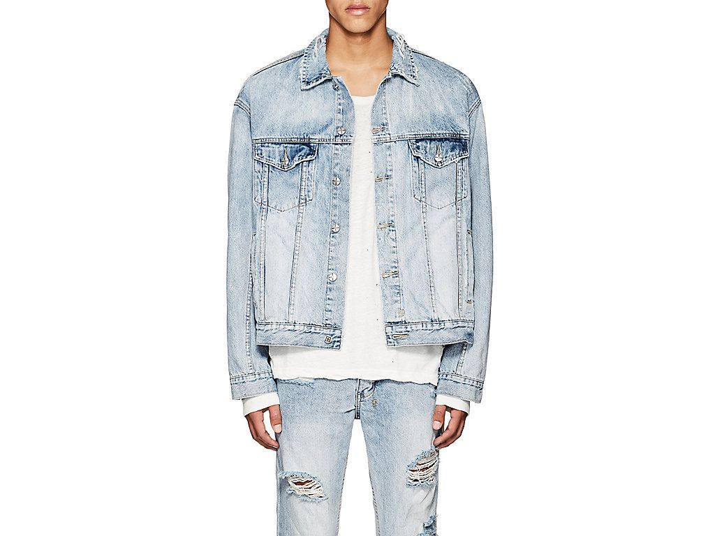 KSUBI X TRAVIS SCOTT GHOSTED DISTRESSED DENIM JACKET.  ksubixtravisscott   cloth   fb31599d9