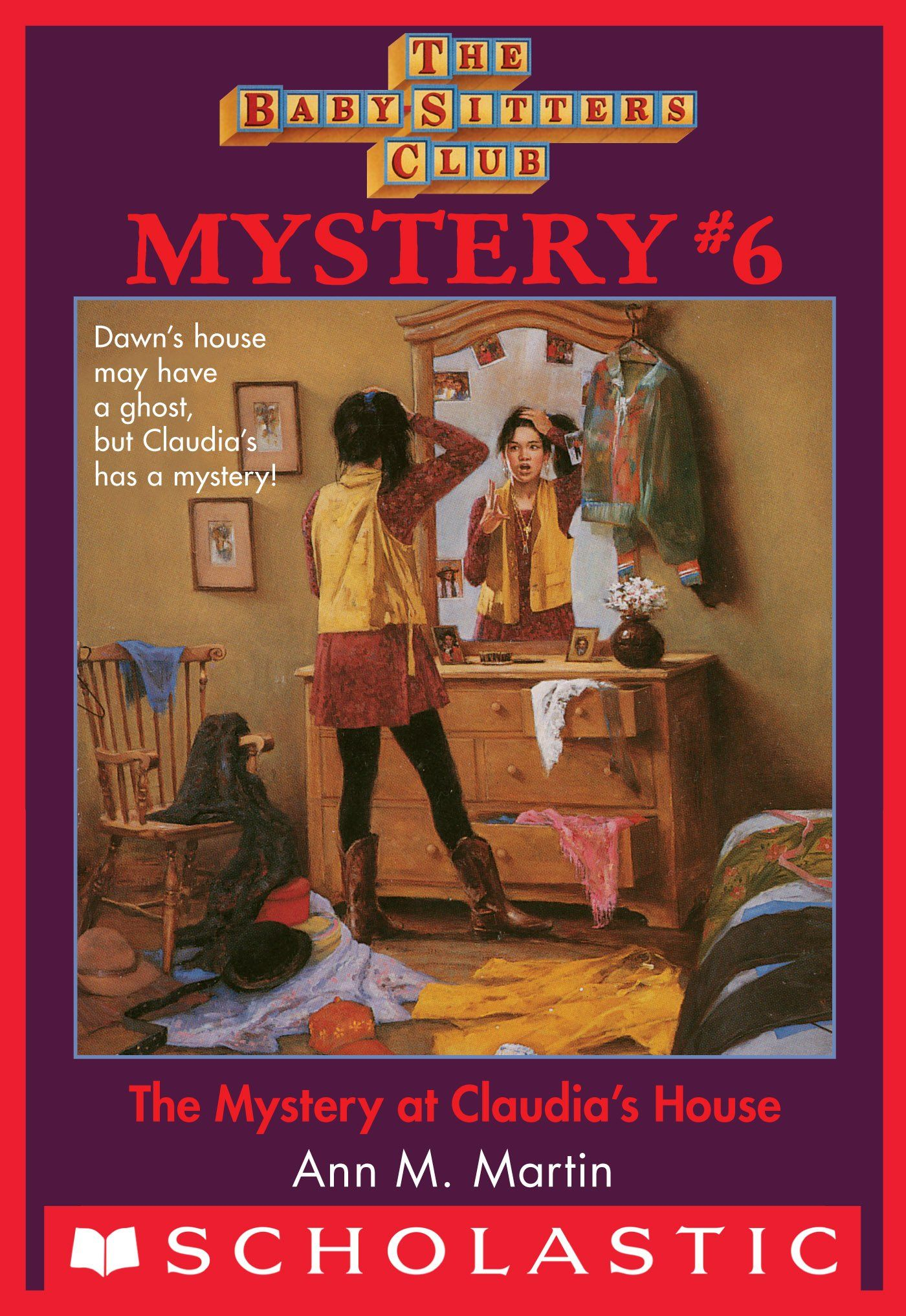 The Baby Sitters Club Mysteries 6 Mystery At Claudia S