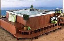 Bullfrog Hot Tub Steps Bar Planters Bing Images Hot Tub Steps Hot Tub Hot Tub Deck