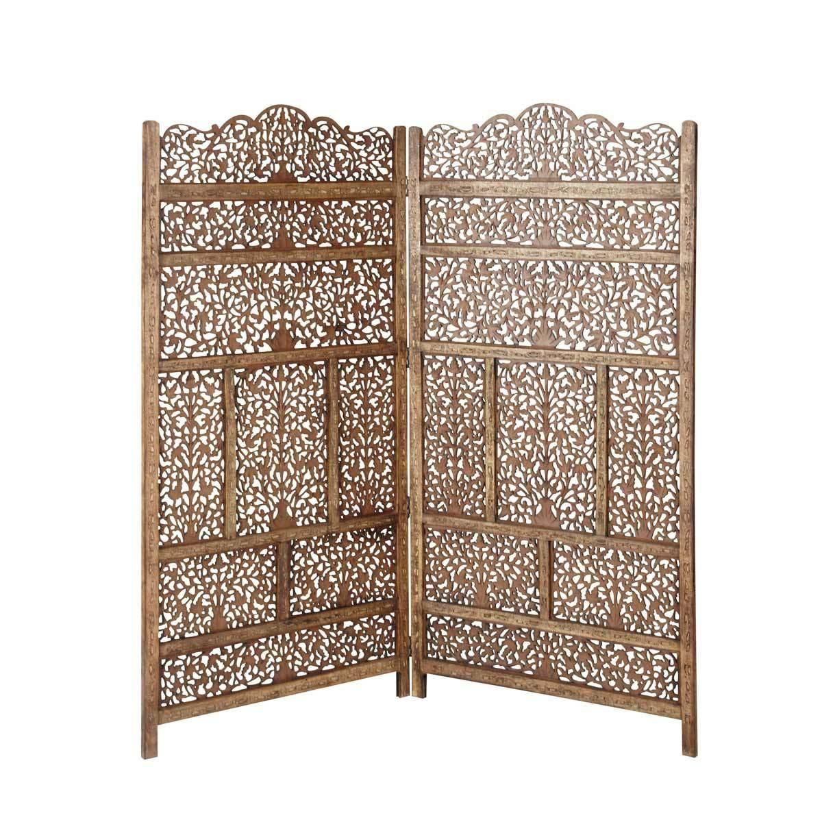 Alhambra wood headboard 160 cm | Maisons du Monde | beds ...