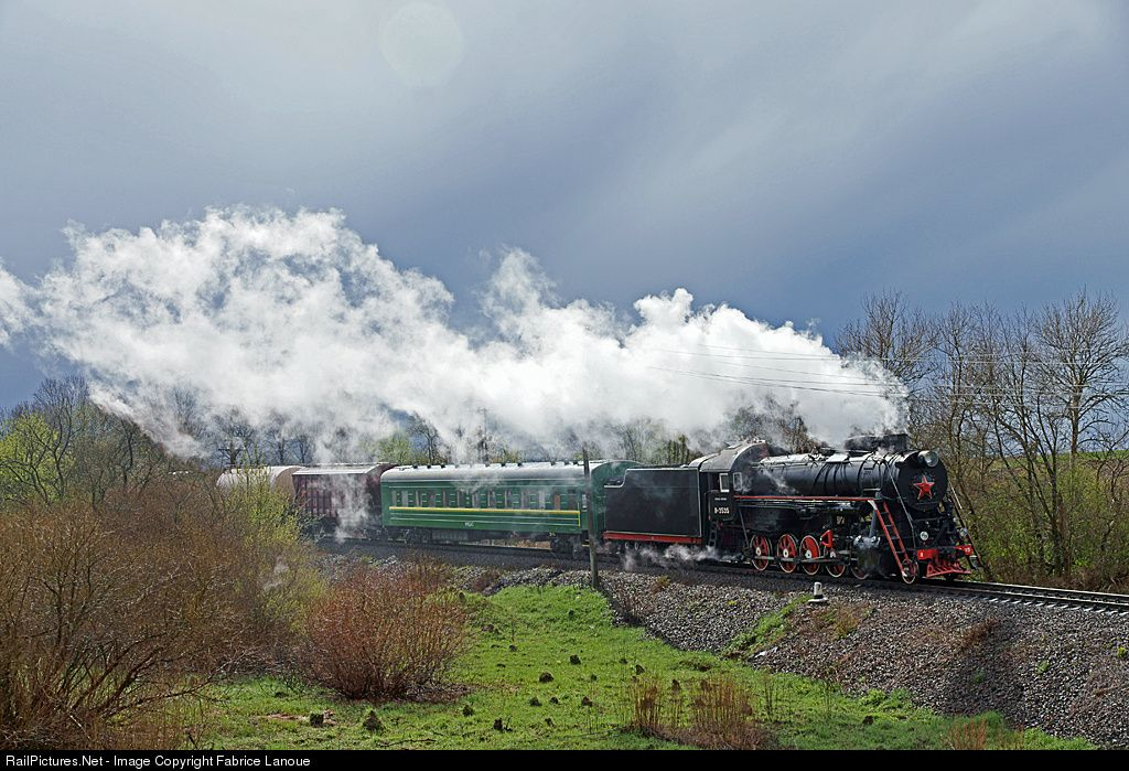 RailPictures.Net Photo: L 3535 Ukrzaliznytsya (Ukrainian Railways) 2-10-0 at Zapytiv, Ukraine by Fabrice Lanoue