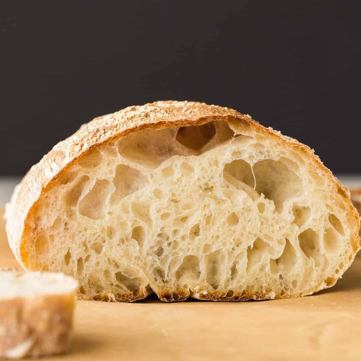Homemade Ciabatta Bread Recipe In 2020 Ciabatta Bread Recipe Homemade Ciabatta Bread
