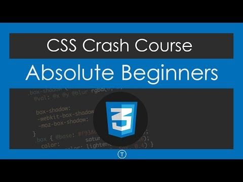441) CSS Crash Course For Absolute Beginners - YouTube HTML tags - new blueprint css framework video tutorial