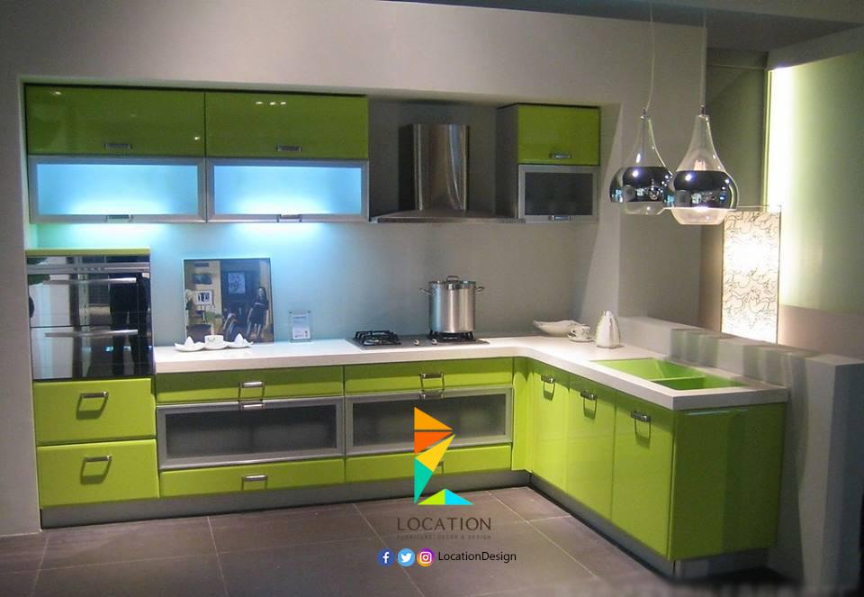 احدث الأفكار و التصميمات للمطابخ الامريكاني 2017 اهم ما يميز المطبخ الأمريكي و التقليدي لوكشين ديزين نت Kitchen Kitchen Storage Decor