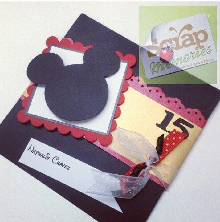 Tarjetas Mickey Mouse