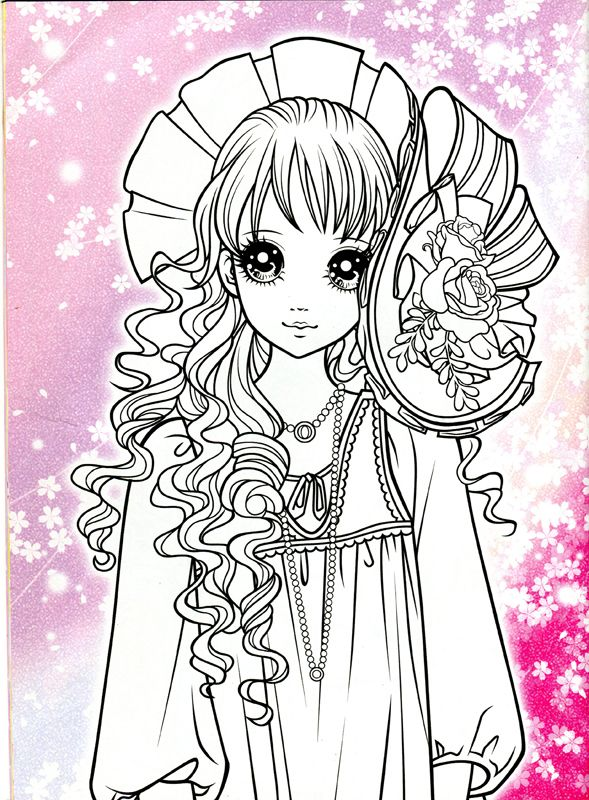 Korean Coloring Book - pink - Mama Mia - Picasa Web Albums ...