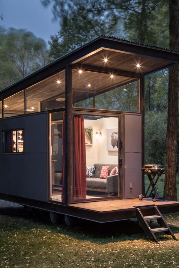 55 Incredible Tiny House On Wheels Designs Container
