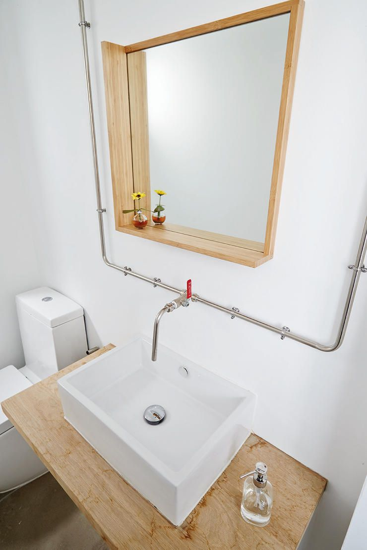 A Minimalistic HDB Jumbo Flat By Desmond Ong Singapore Baths - Designer bathroom sinks singapore