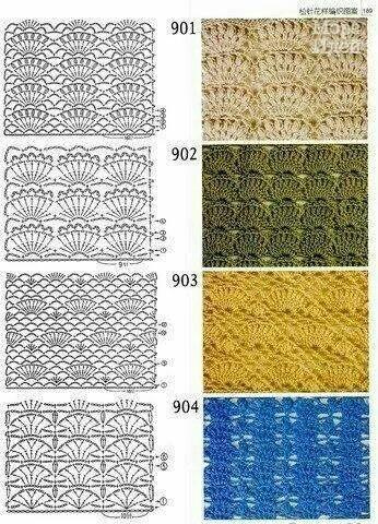 Pin de Natallia Lundqvist en Crochet | Pinterest