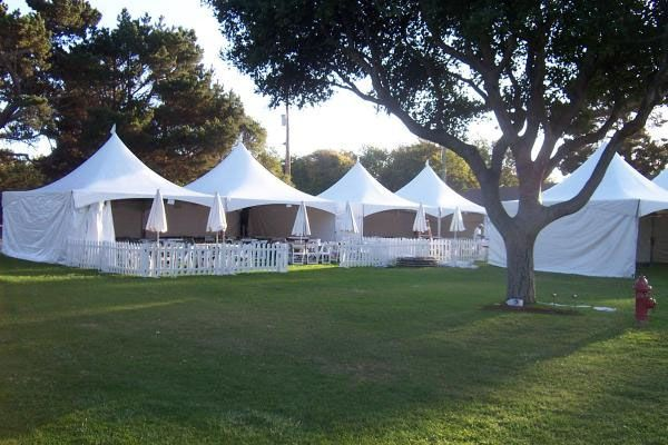 Pristine white festival tents. | Tent, Outdoor structures ...