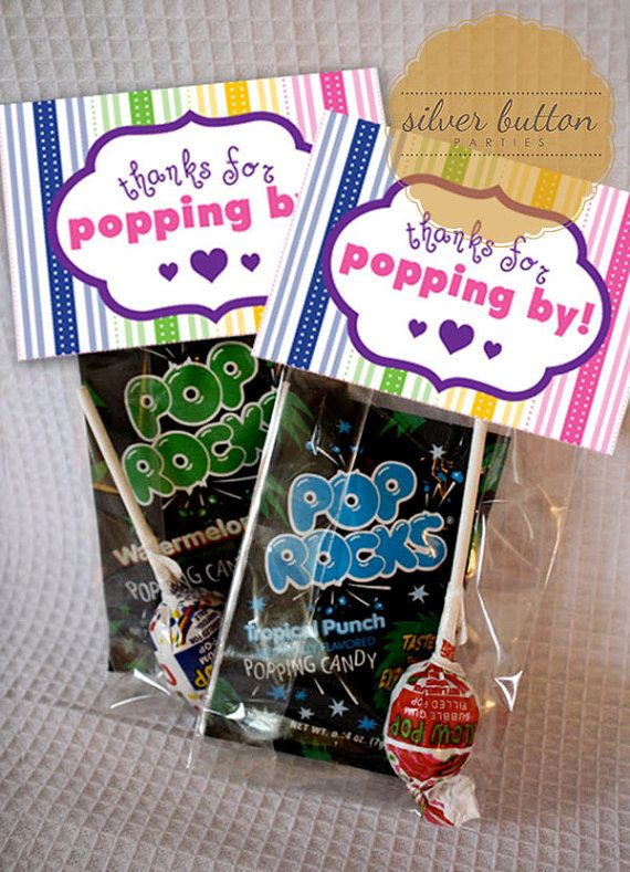 ideas pinterest pop baby showers party favors and shower favors