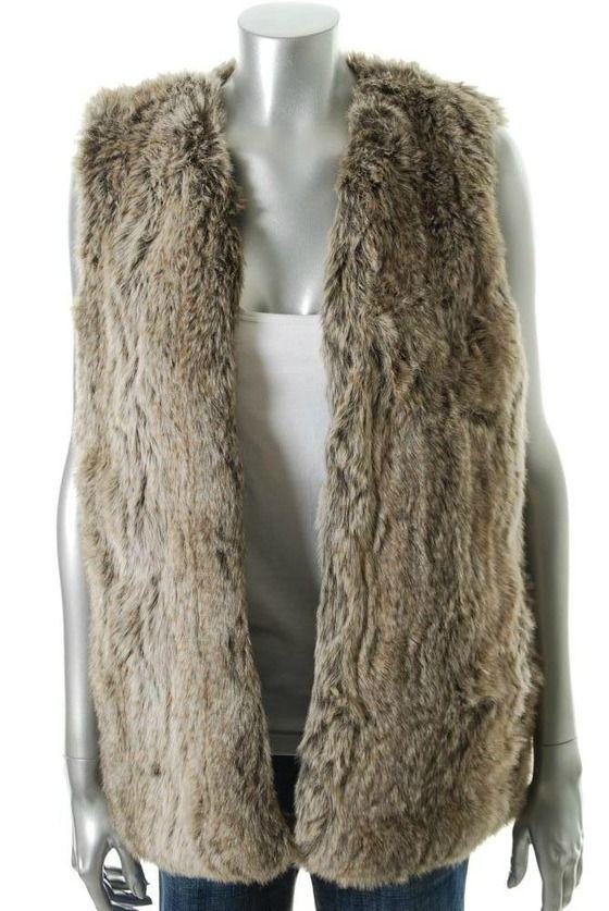 French Connection Bronze Vest BHFO Coat Sale Misses 0 $147.20
