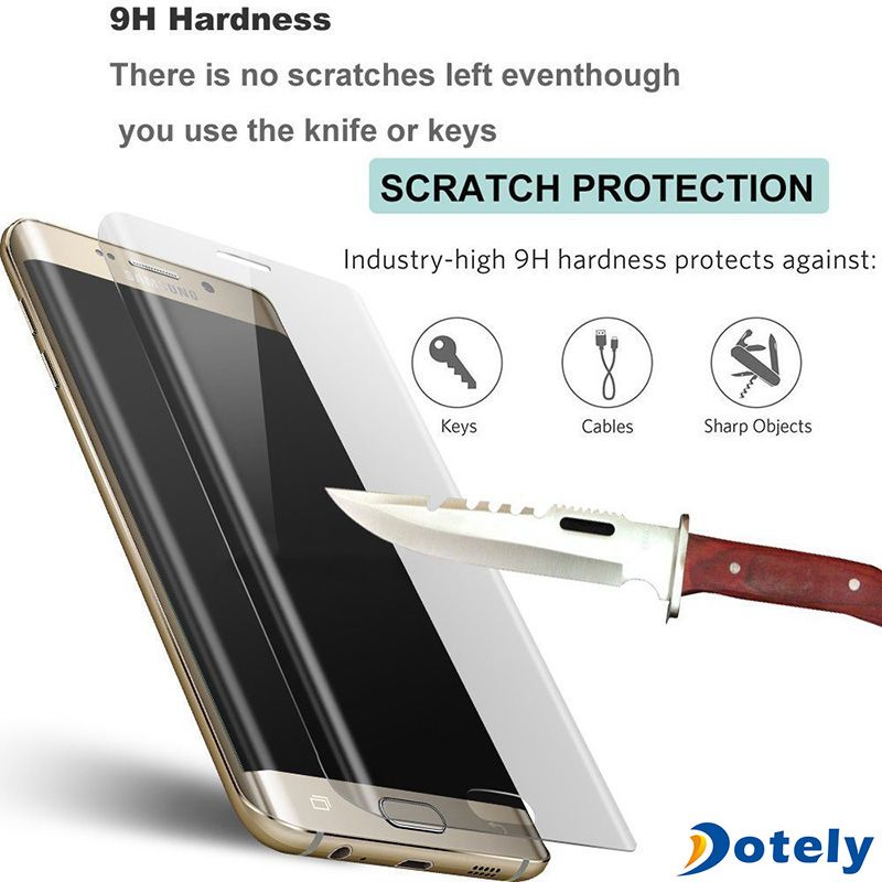 3D Clear Curved Full Coverage Premium Tempered Glass For Samsung ...