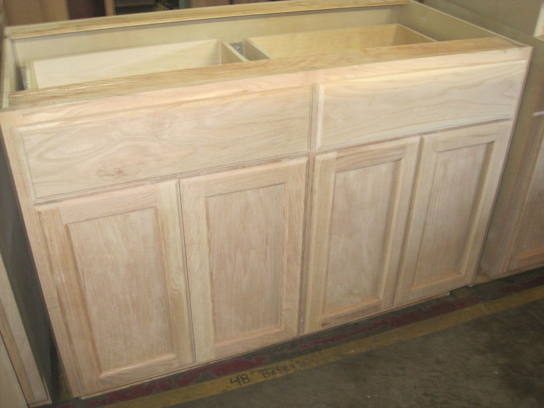 48 Wide Kitchen Sink Base Cabinet