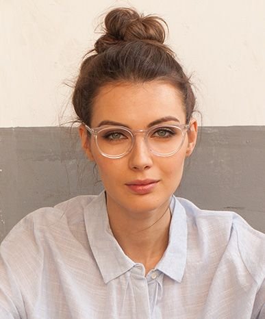 93bbc6a588 Morning in Clear White  Glasses. Clear Glasses Frame For Women s Fashion  Ideas  Transparent  Eyeglass ...