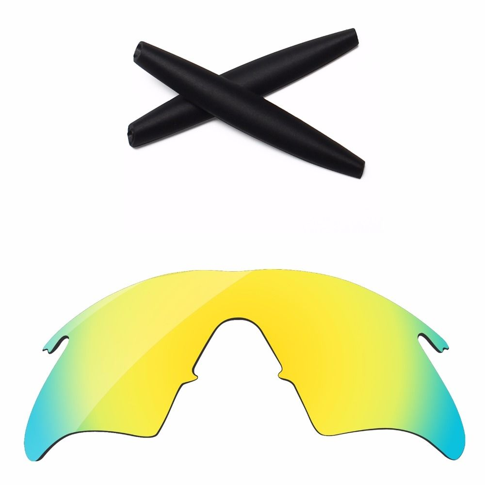 db30b01a9c PapaViva Green Polarized Replacement Lenses and Rubber Kit for M Frame  Heater Sunglasses Frame