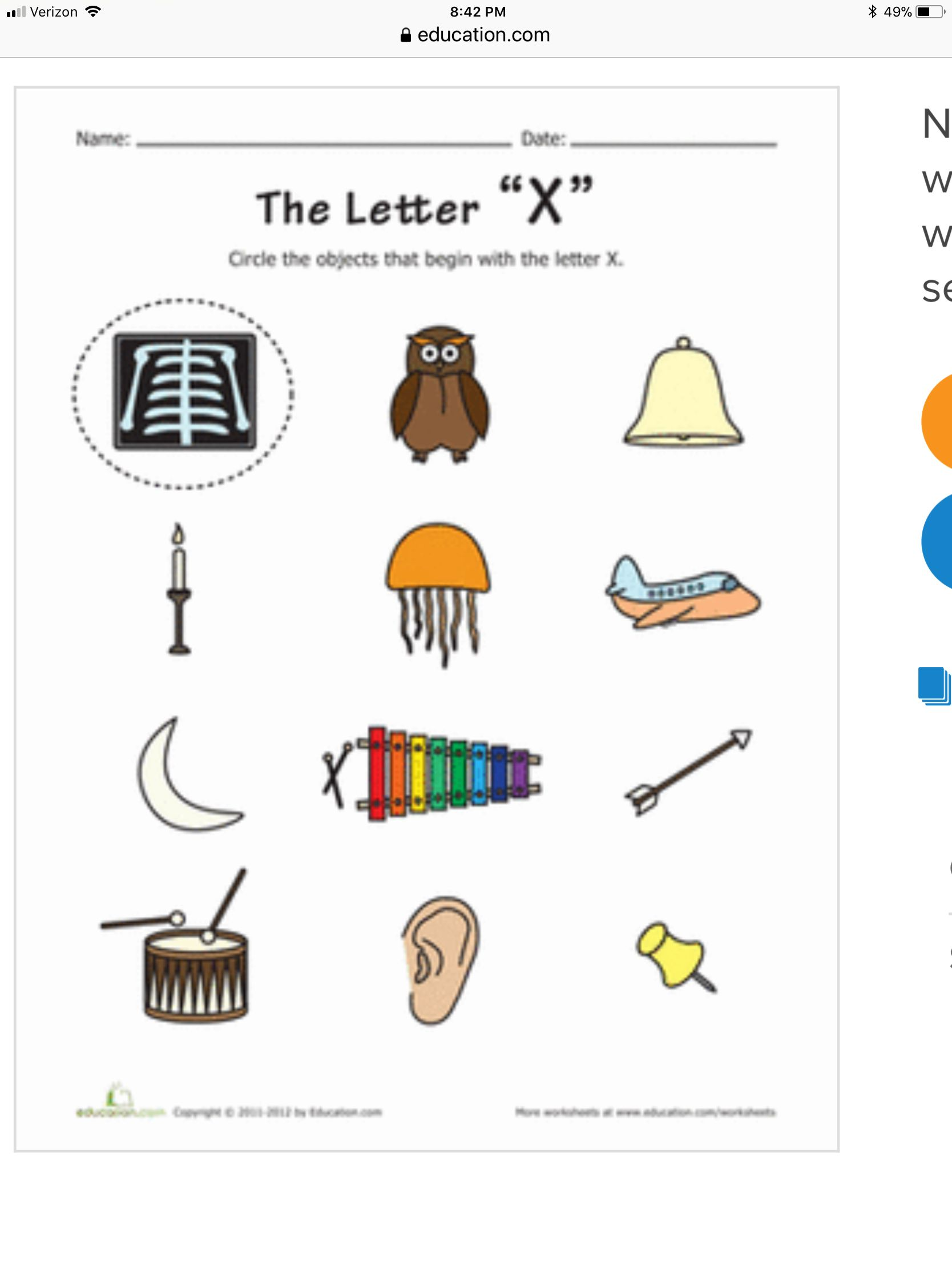 Pin by Angie mustin on Letter X Alphabet phonics