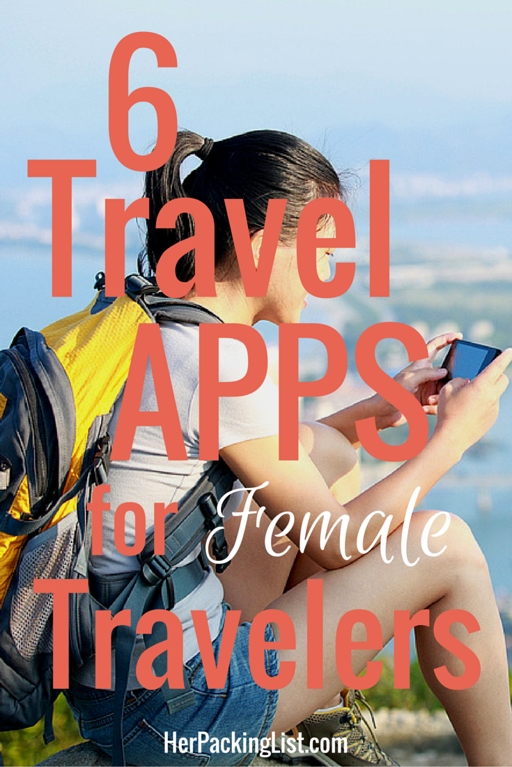 These iPhone apps for travel-loving ladies can either help plan or improve a trip. If you're a woman traveling, you might want to check them out!