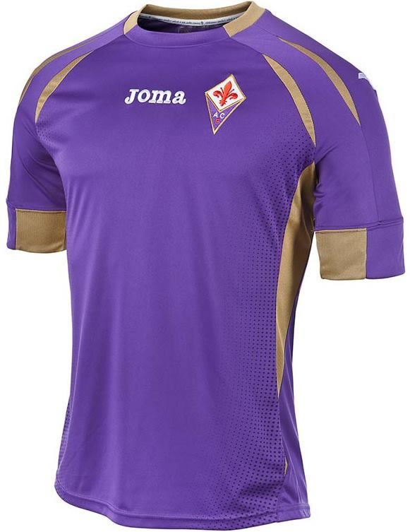 Fiorentina 2014 15 Joma Home Kits Camisa Camisas De Futebol Futebol