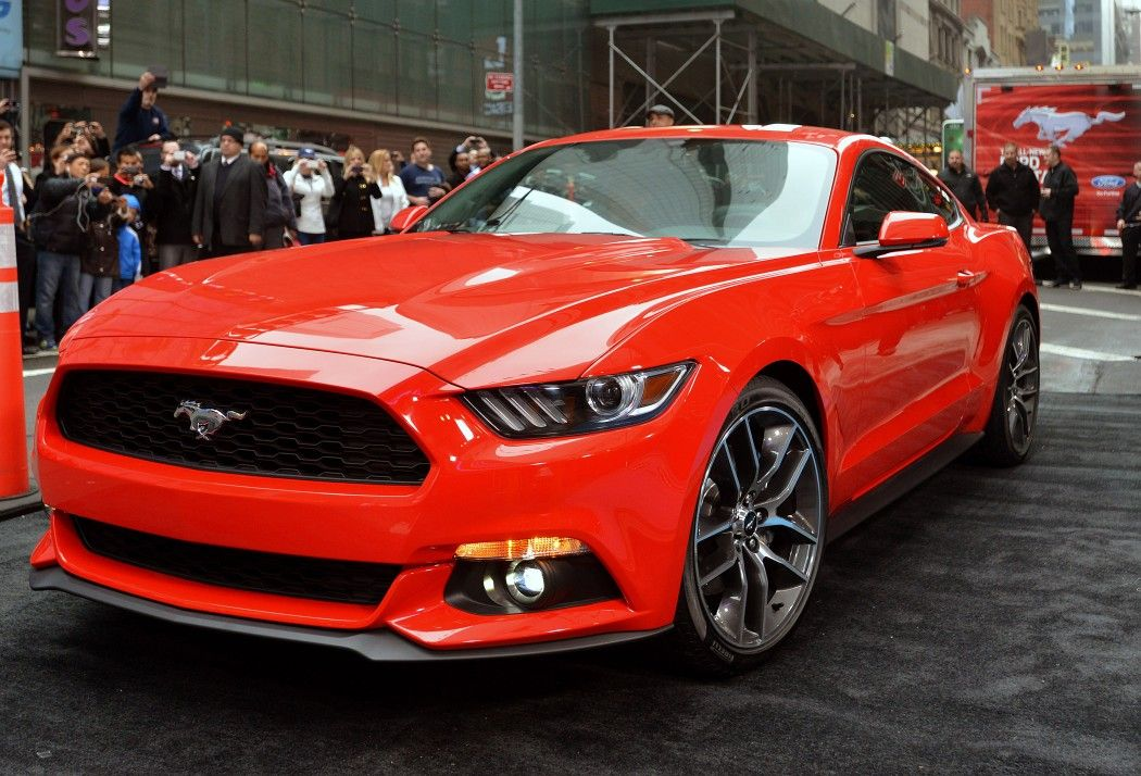 2015 Ford Mustang Unveiled Exclusively In New York City Car