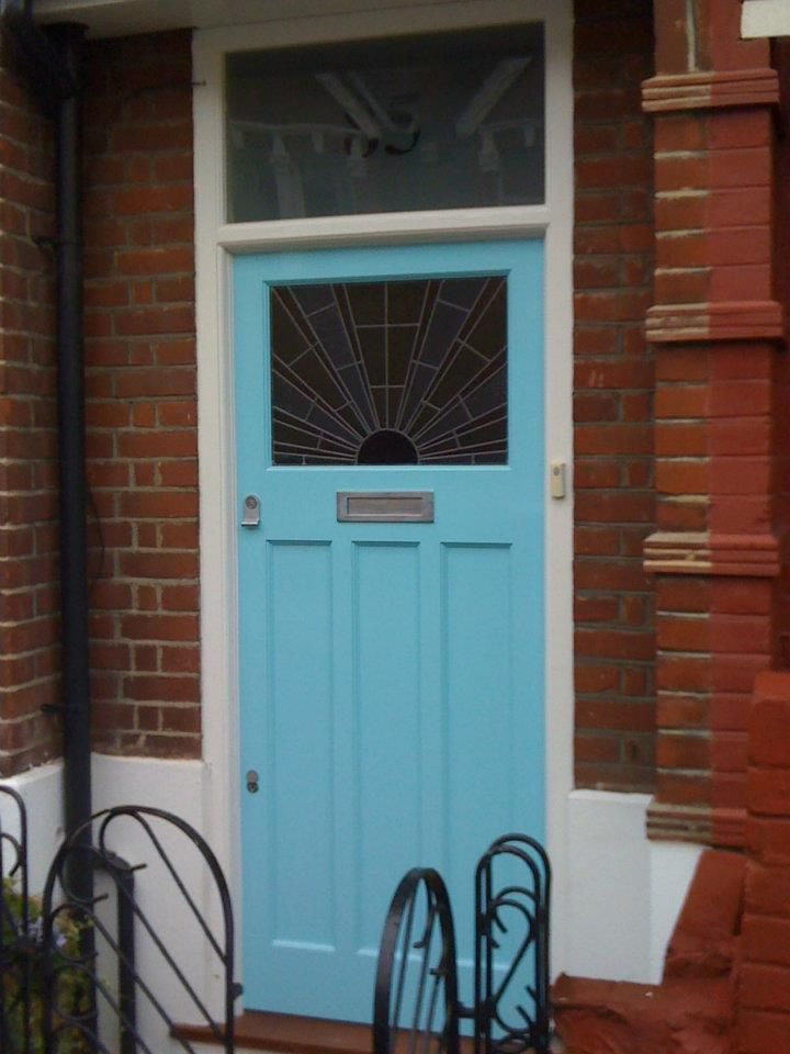 The London Door Company \'Fresh Blue\' paint colour - Satin | Home ...