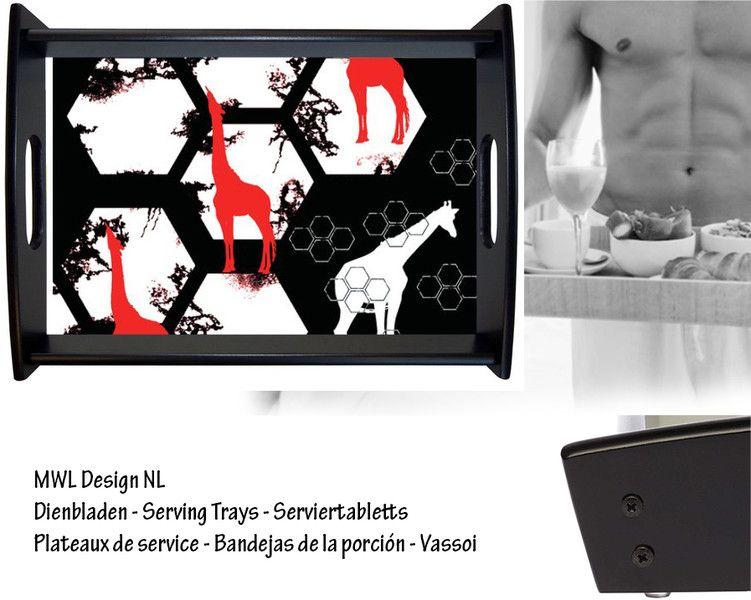 Dienblad MWL Design NL   van MWL Design NL Art - Interior - Design op DaWanda.com