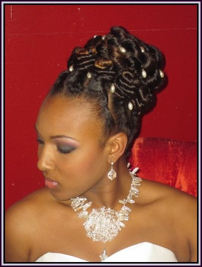 Updo Hairstyles For African American Women Hair Fashion For Special Ocassion Pinterest