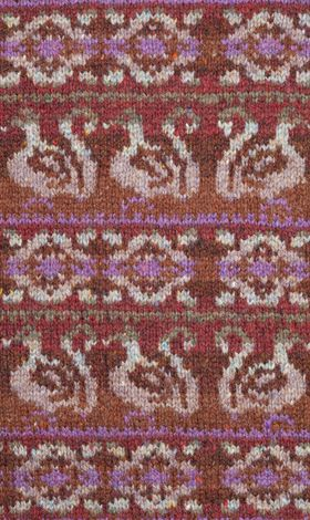 Strathglass. Jade Starmore www.virtualyarns.com Fair Isle Knitting ...
