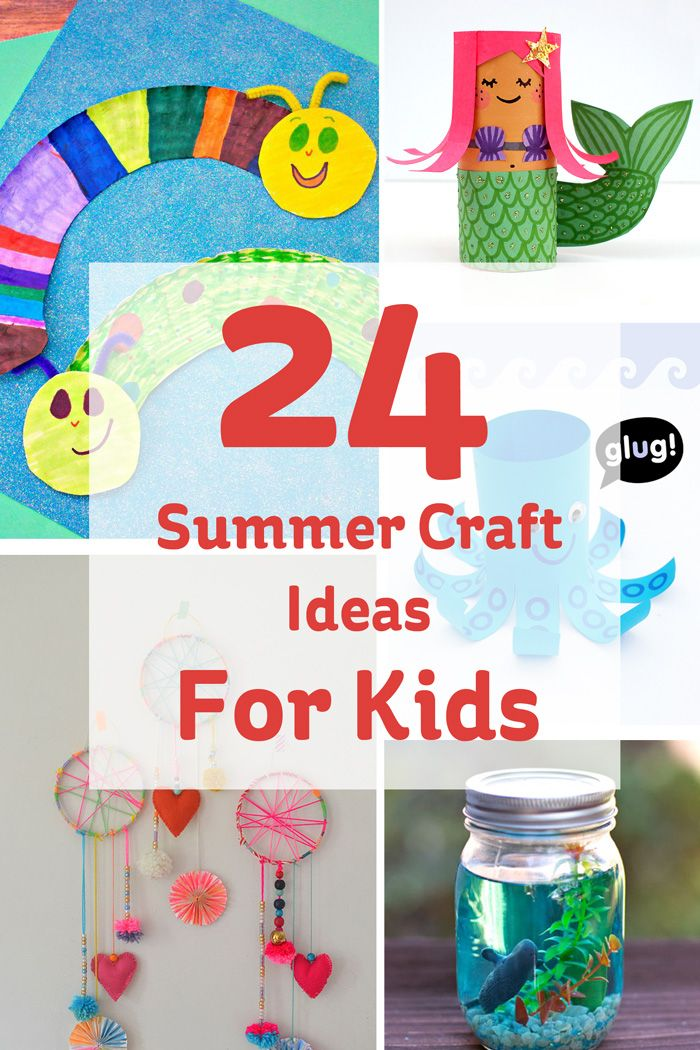 Make this summer the summer of craft, and keep the kids entertained while having fun!