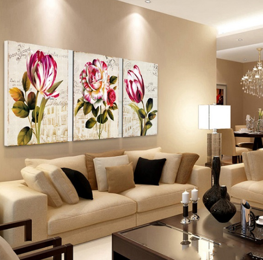 Particulares dise os de cortinas para sala ideales de - Cuadros para casas modernas ...