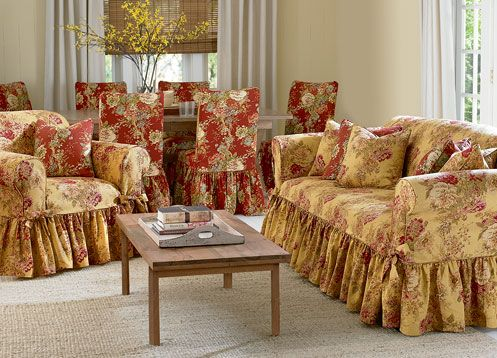 floral print sofas yellow cushion for and sofa slipcover t blue slipcovers