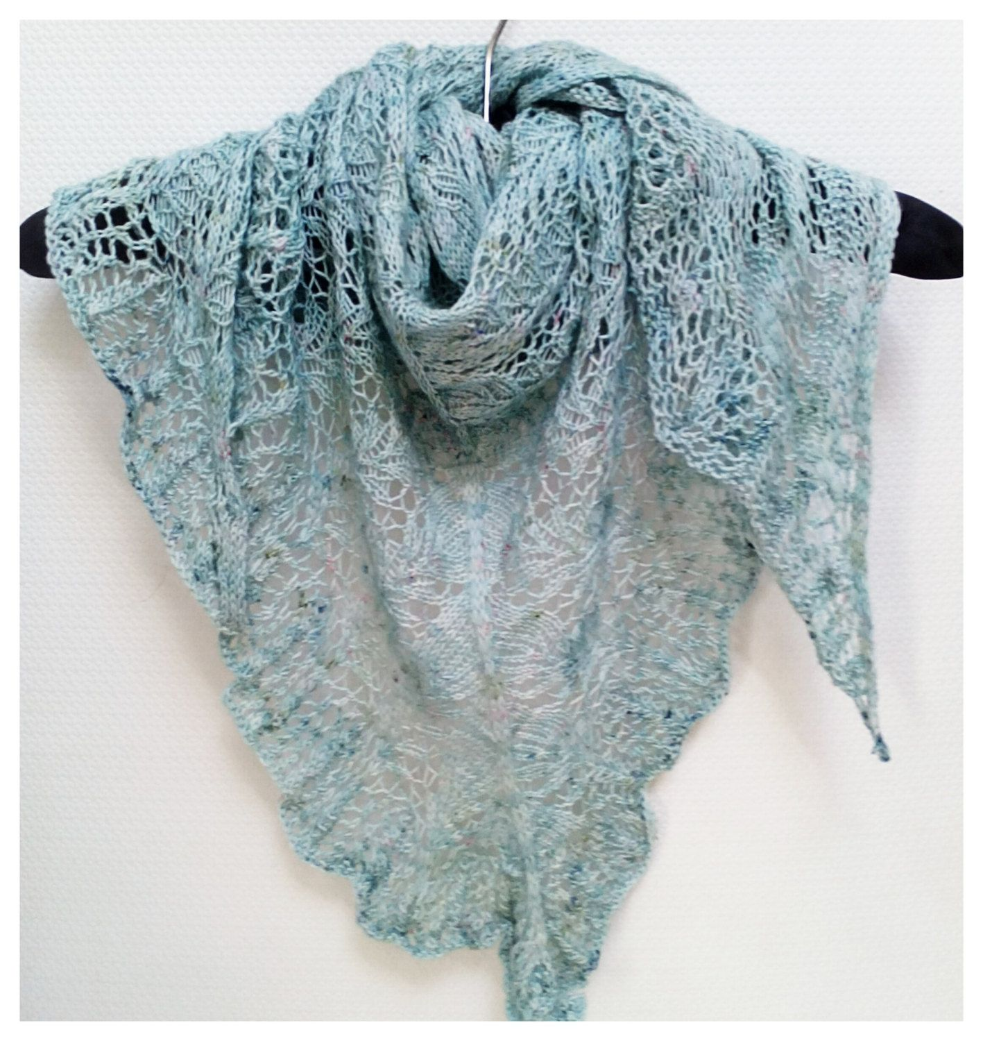 New in our shop! Knitting Pattern Scarf, Riperian Picnic Shawl, Lace ...