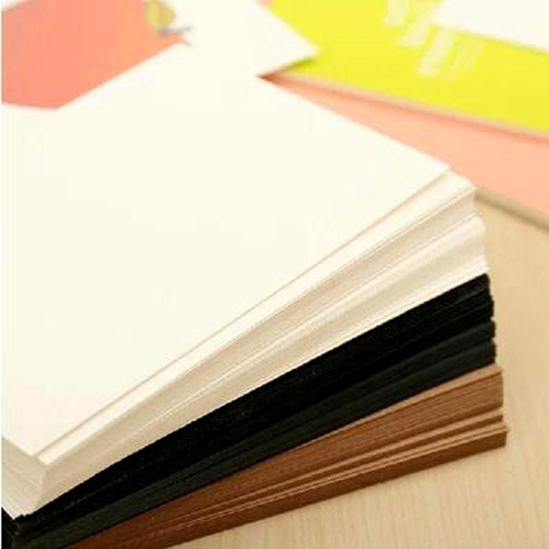 20 Sheets\/lot Blank Greeting Cards Kraft Paper Vintage Blank Cards - blank memo