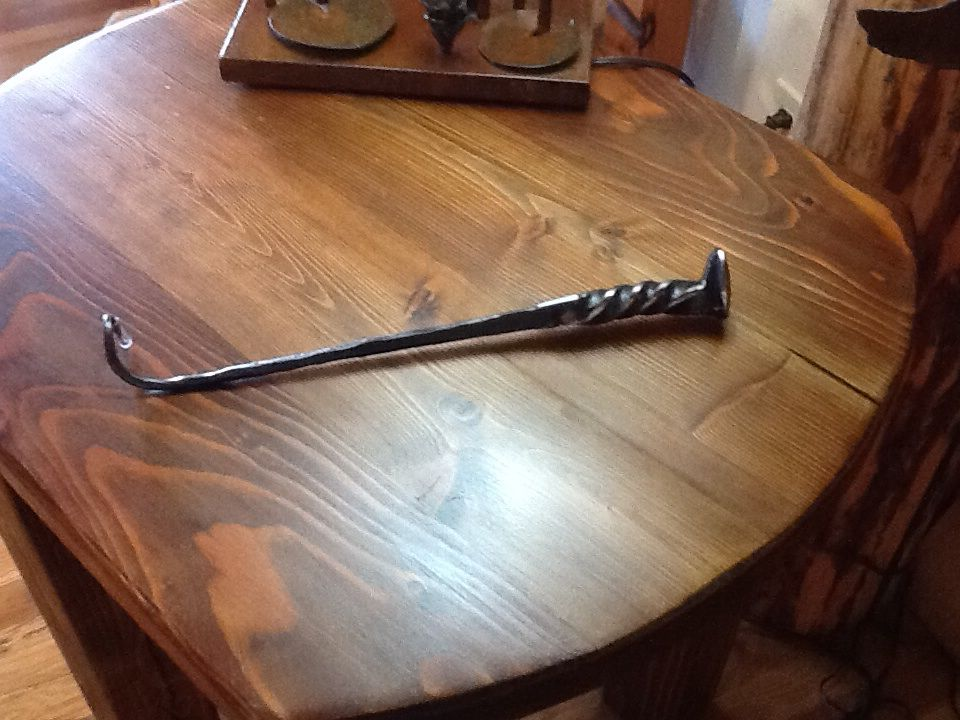 Not An Weapon But A Steak Flipper For The BBQ. Misty Mountain Furniture In  Sandpoint