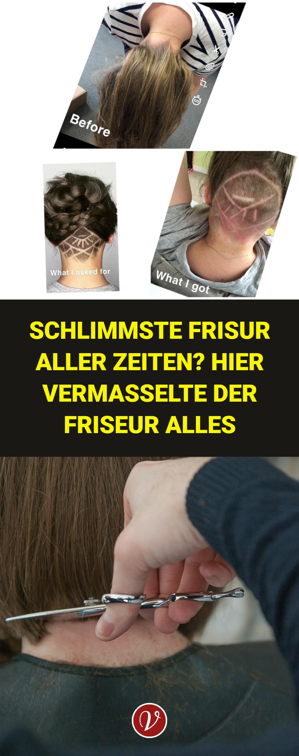 Schlimmste Frisur Aller Zeiten Hier Vermasselte Der Friseur Alles In 2020 Friseur Haare Pflegen Frisuren