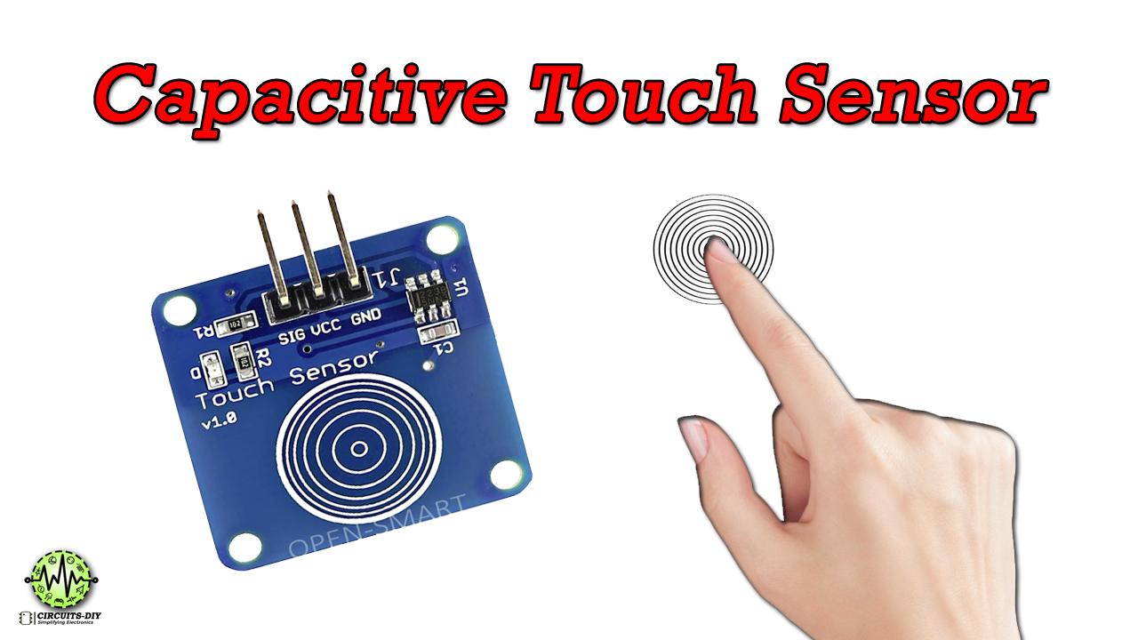 Ttp223 Capacitive Touch Sensor Module Sensor Arduino Sensors Touch