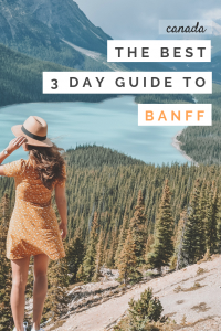Best vacation options banff
