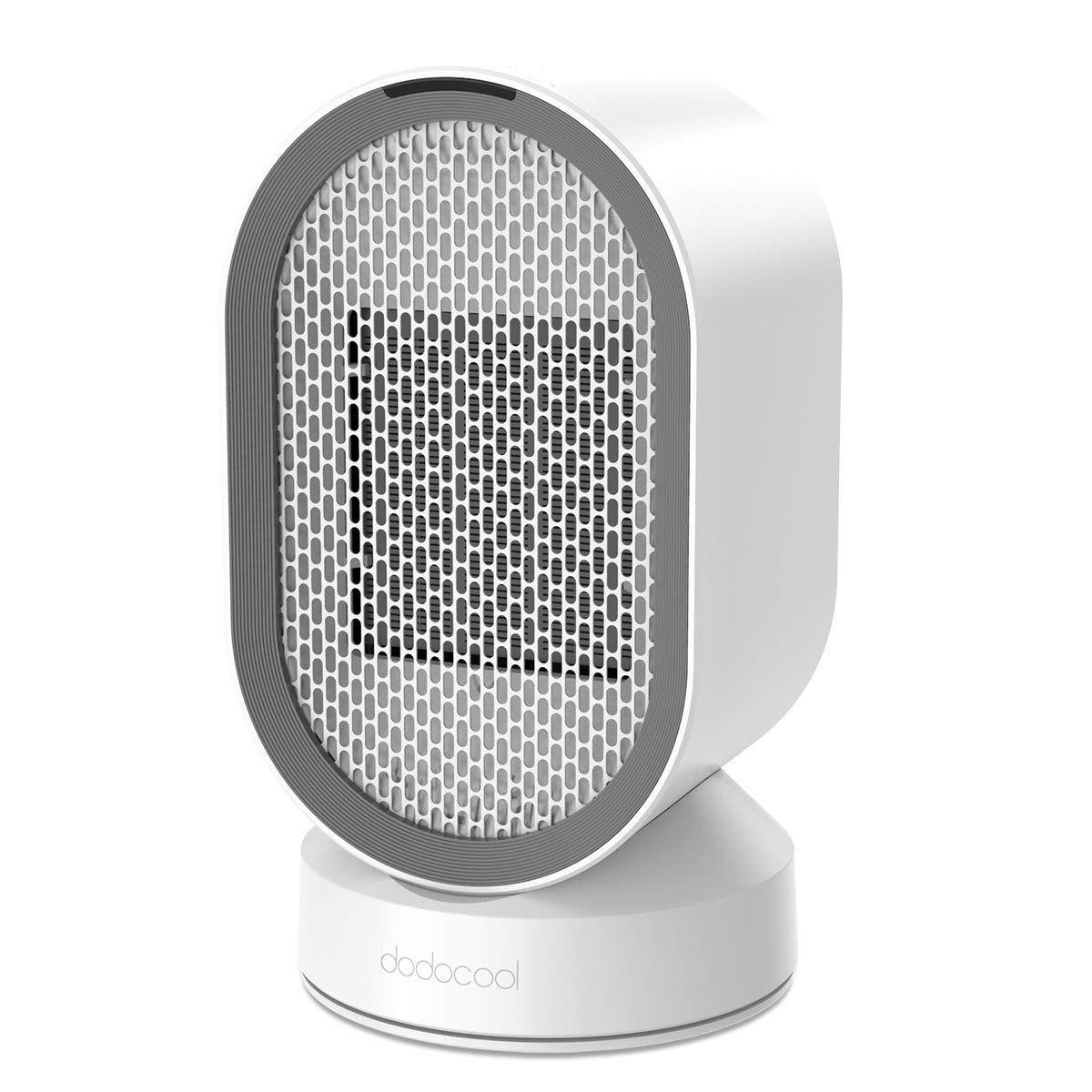 dodocool Mini Radiateur Soufflant Electrique Céramique, Chauffage