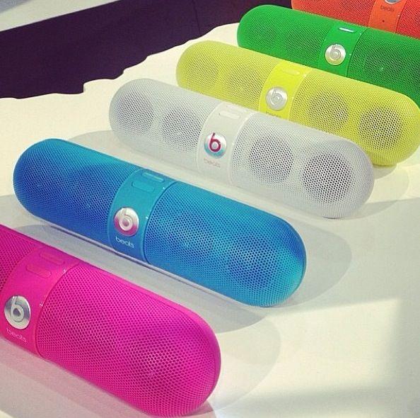 Beats By Dr Dre Neon Pill Speaker Caixas Amplificadas Caixa De