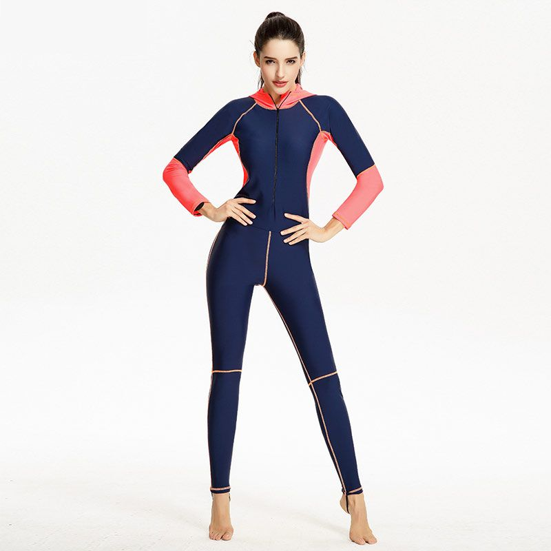 Seac Long Sexy Wetsuit Woman Slim Full Body Swimsuit For Women