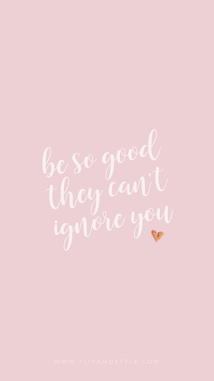 iPhone Wallpapers Background Quotes ❤ Freebies for a girl boss