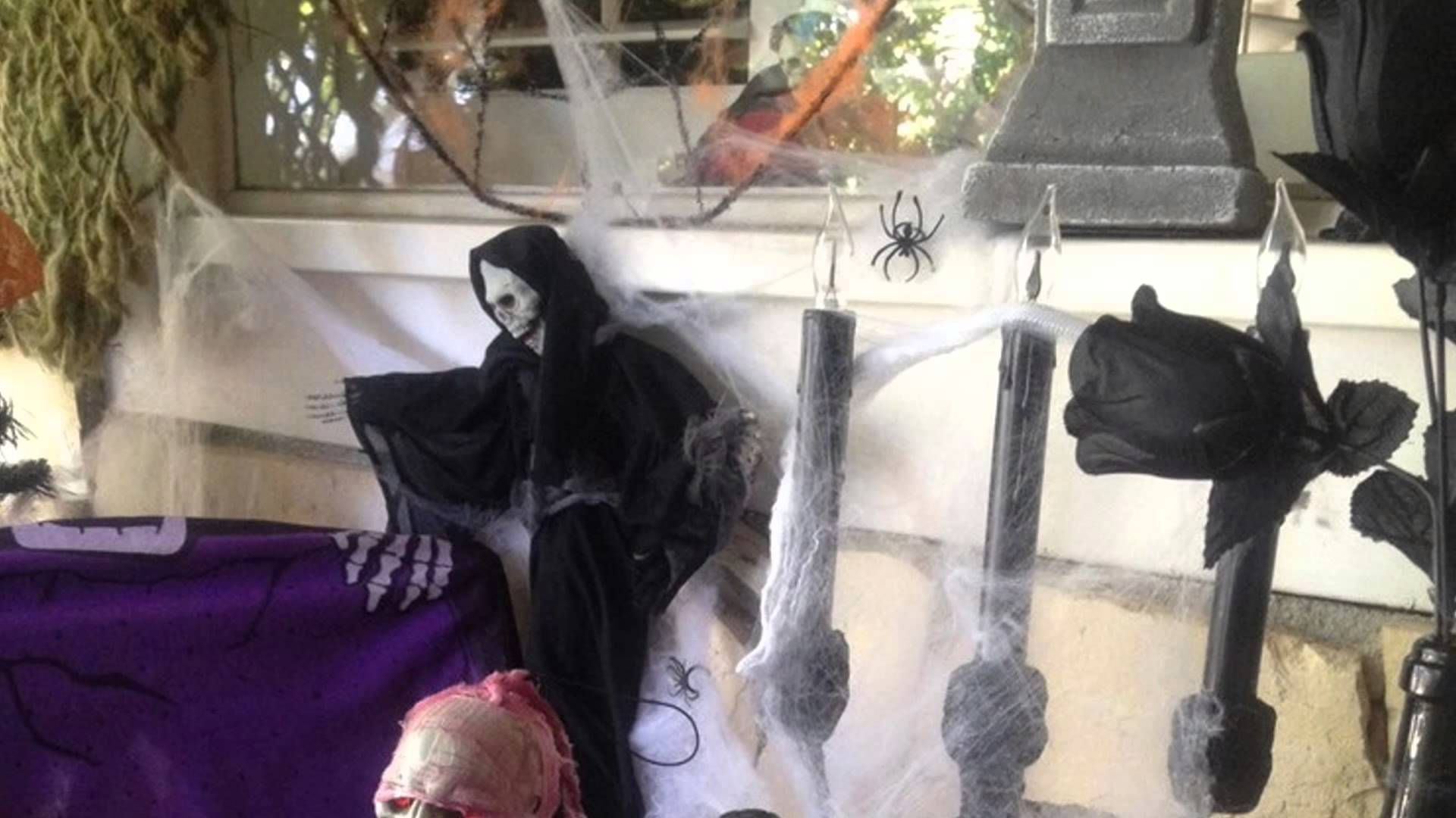 Scary Outdoor Halloween Decorating Ideas Holiday Decorating Ideas - outdoor halloween decorating ideas