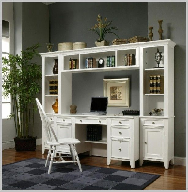 Image Detail For Built Wall Unit Desk Wood Accented Ceiling Luxury Homes Built Custom Built Wall Unit Home Office Cabinets Wall Unit