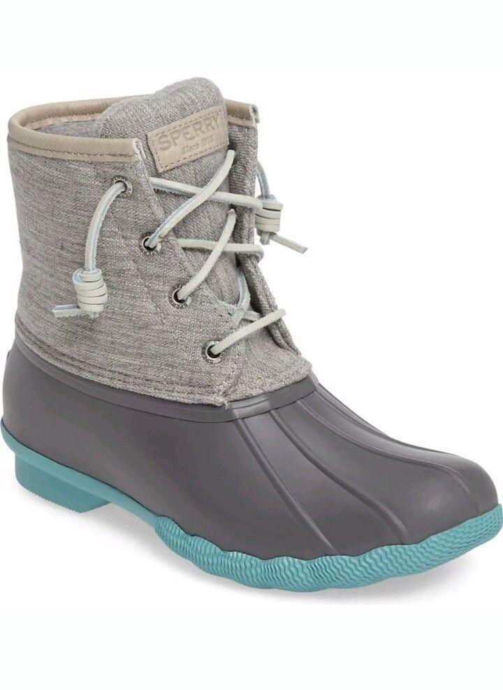 duck boots, Sperry saltwater duck boots