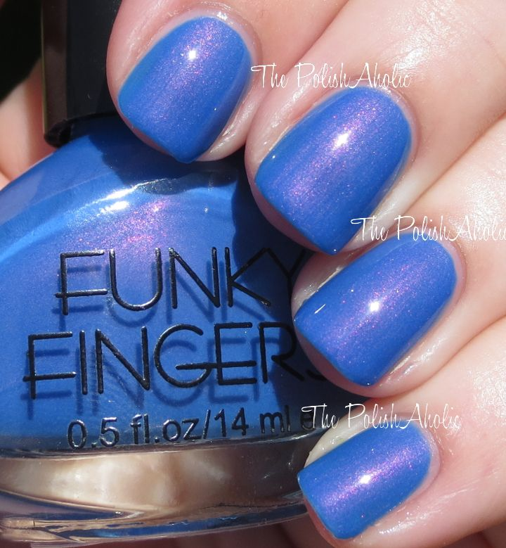 The PolishAholic: Funky Fingers Nail Polish Swatches & Review: Let ...