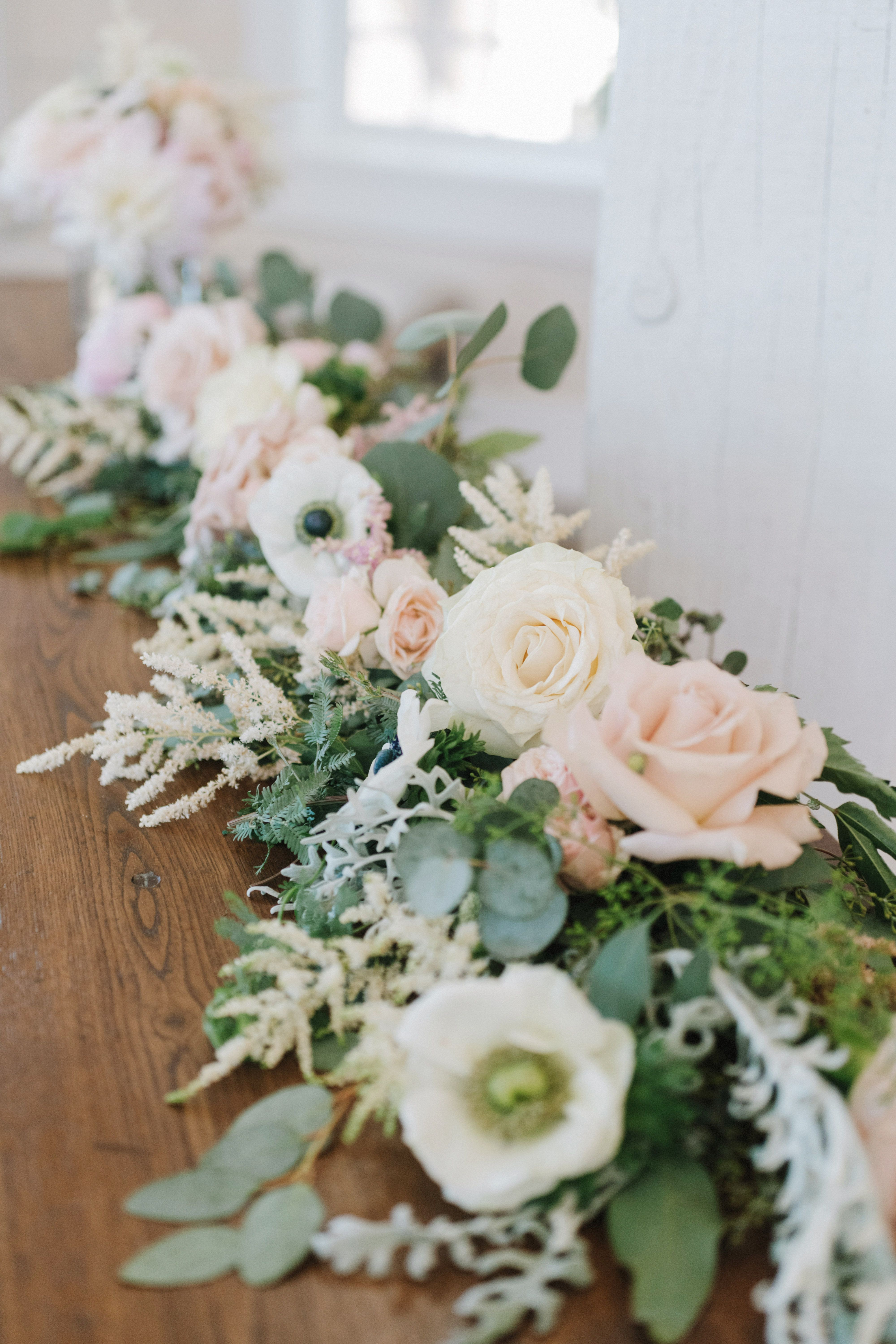 Heidi Firth Floral In 2020 Table Garland Floral Wedding Floral