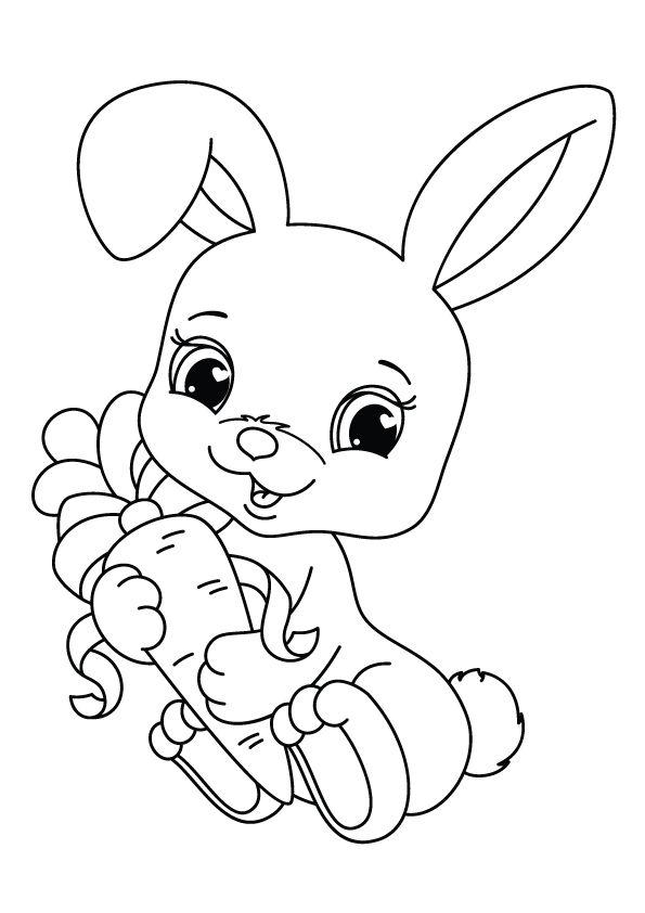 Print Coloring Image Momjunction Bunny Coloring Pages Animal Coloring Pages Cartoon Coloring Pages